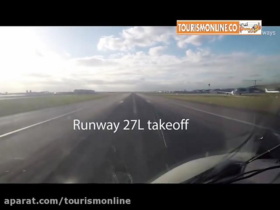 لندن –سانفرانسیسکو در 4 دقیقه همراه با بزرگترین هواپیما