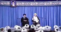 بخش جالبی از سخنرانی حجت الاسلام قرائتی در حضور رهبرمعظم انقلاب
