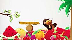 آموزش انگلیسی به کودکان - آموزش اسامی میوه ها به زبان انگلیسی
