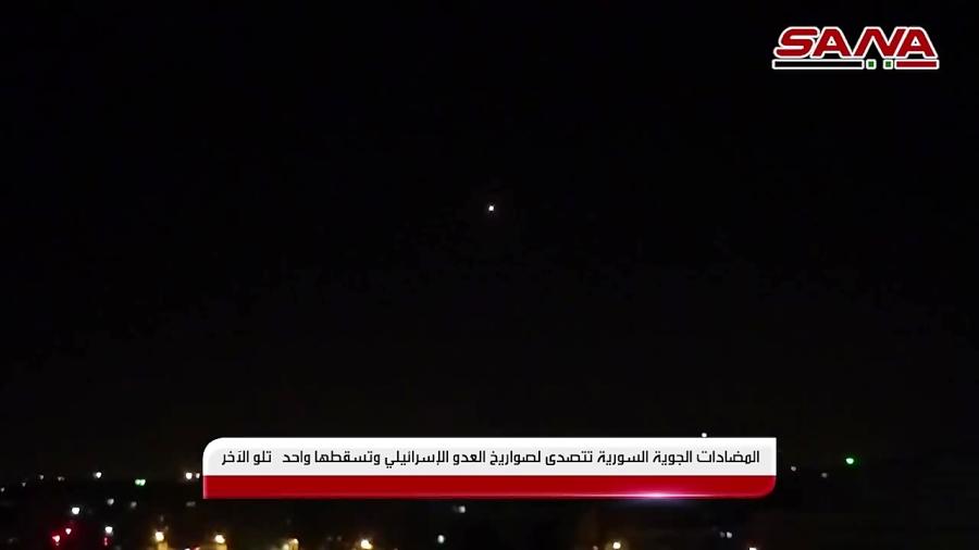سوریه انهدام موشک های اسرائیلی