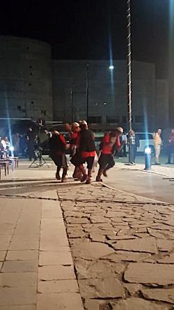 اجرای رقص کرمانجی در سن...