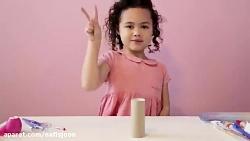 پرتاب های دختر بچه نابغه 4ساله که همشون به هدف میخوره