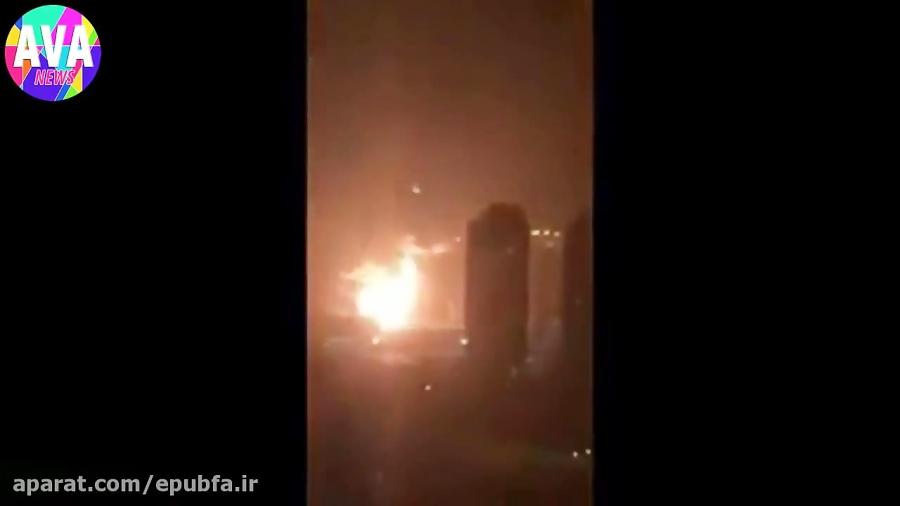 فوری: جدیدترین تصاویر از حمله موشکی دیشب به اسرائیل و هدف قرار گرفتن سامانه موشک