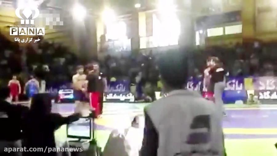 حاشیه سازی سعید عبدولی در رقابتهای کشتی انتخابی تیم ملی