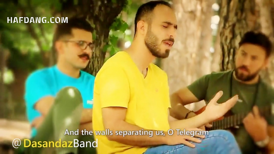 عاشقانه ای برای تلگرام؛ موزیک ویدیویی از گروه دست انداز