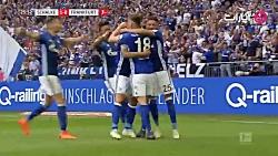 خلاصه بازی شالکه 1-0 فرانکفورت