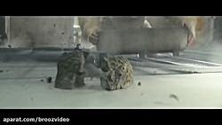 RAMPAGE Movie Clip George vs Giant Crocodi...