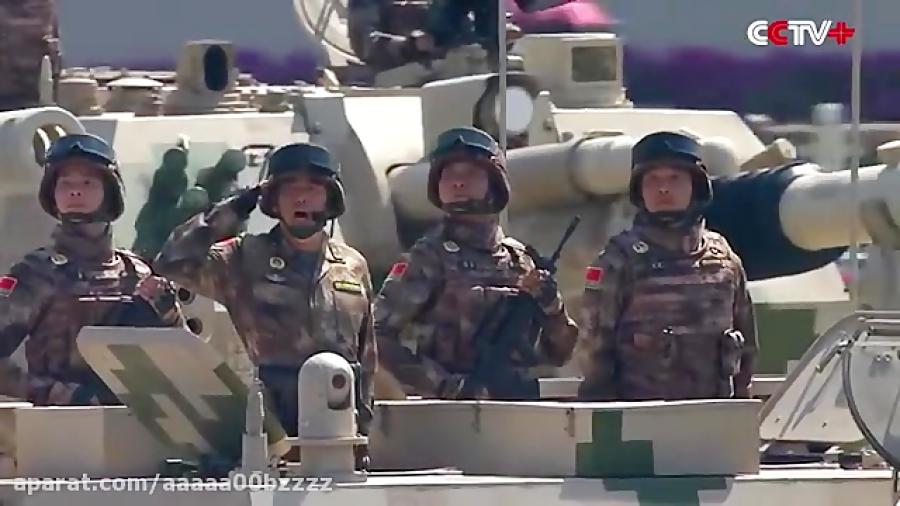 قدرت نظامی ارتش چین. رژه ارتش چین
