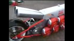 موتورسیکلت با موتور اره برقی فاجعه یا اختراع ؟