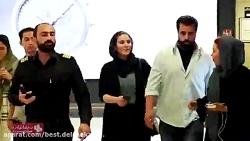 اکران مردمی فیلم چهارراه استانبول باحضور بازیگرها و آتش