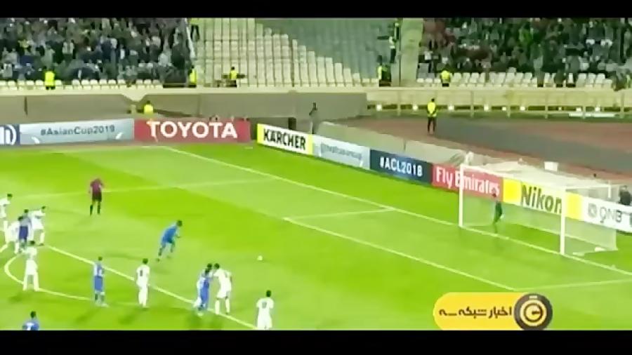 حواشی دیدار استقلال و ذوب اهن در لیگ قهرمانان