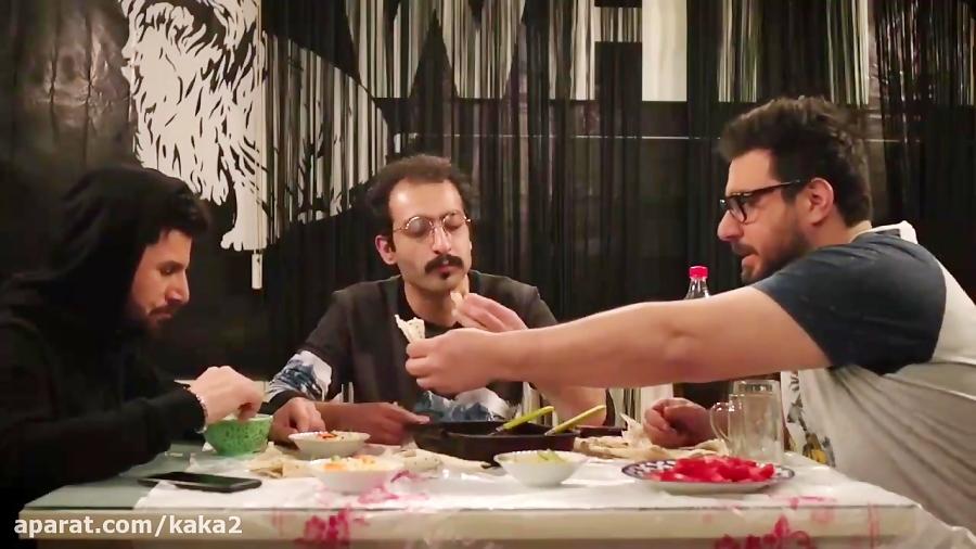 سکانس جالب قسمت سوم ساخت ایران 2