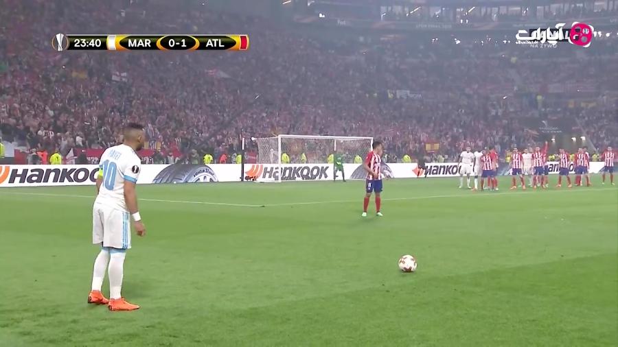 خلاصه بازی مارسی 0-3 اتلتیکو مادرید (HD)