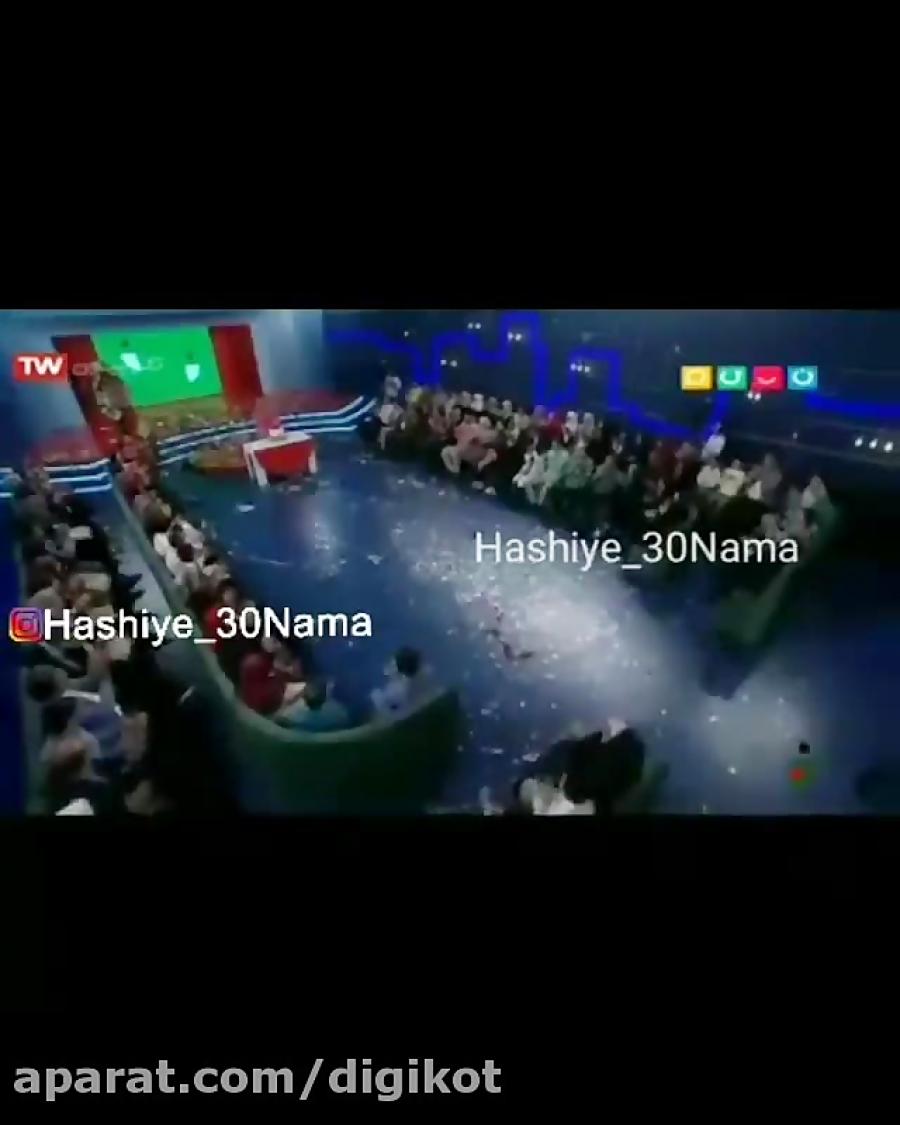 هدیه مهران مدیری به افتتاحیه خندوانه رامبد جوان