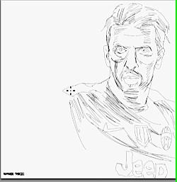 نقاشی بوفون اثر محمود ت...