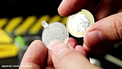 یادگیری ساختنی علمی ساده:ساخت طرح سکه پلاستیکی