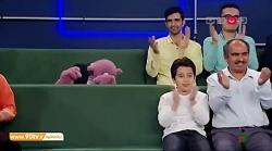 ترانه خوانی جناب خان برای بانوان فوتسالی ایران در خندوانه