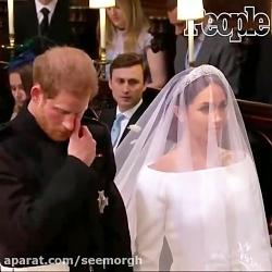 اشک های پرنس هری در مرا...