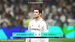 رئال مادرید در مقابل اسطوره های رئال مادرید