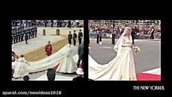 ازدواج پرنس هری و مگان مارکل مقایسه با عروسی های سلطنتی