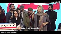 شوخی معنادار (ارسطو) احمد مهرانفر با حجاب همسرش