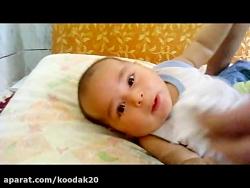 شیر پس دادن کودک