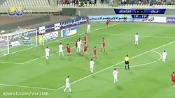 خلاصه بازی ایران 1 ازبکستان 0