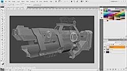 آموزش مدل سازی یک اسلحه...