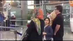 نخل طلای کن در فرودگاه به جعفر پناهی رسید