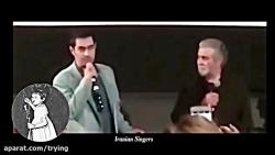 شهاب حسینی در کنار بهروز وثوقی در آمریکا !!