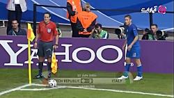 گلهای بازی ایتالیا 2-0 ج...