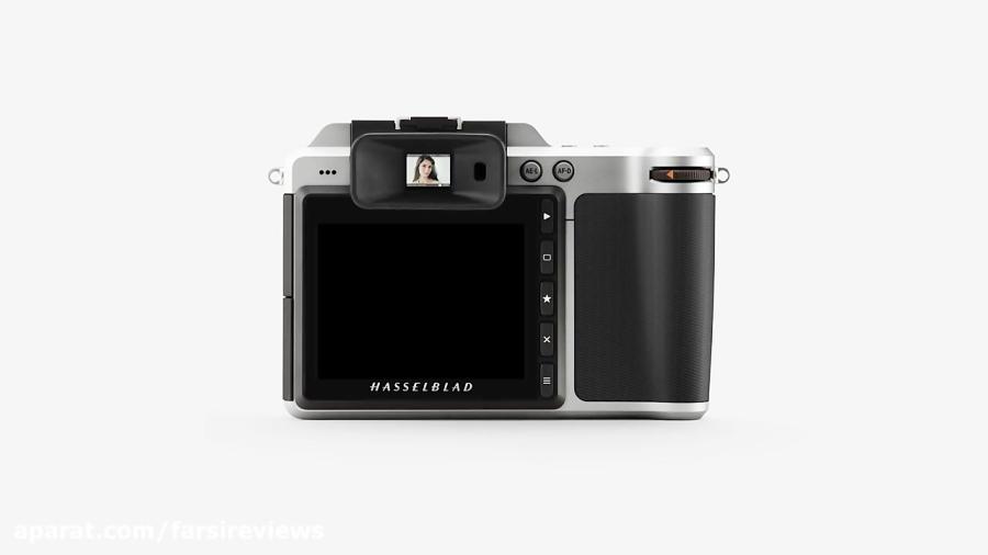 تریلر راهنمای استفاده از دوربین Hasselblad X1D EVF