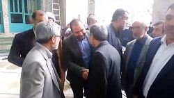 دکتر احمدی نژاد در مراسم ختم دایی بزرگوارشان