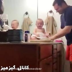 سرگرمی-بازی کردن پدرها ...