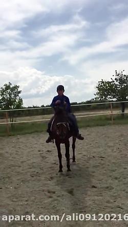 اسب سواری خنده دار ابوا...