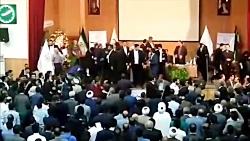تنش و درگیری شدید در کنگره حزب اعتماد ملی!