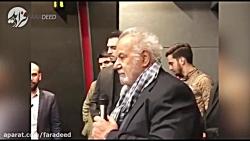 آخرین صحبت های ناصر ملک...