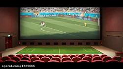 پخش فوتبال در سینما ها /...