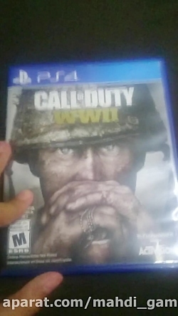 آنباگسینگ بازی call of duty w...