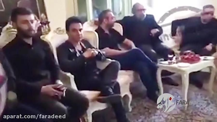سخنان تند مسعود کیمیایی در منزل ملک مطیعی