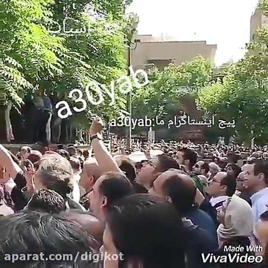 صحبت های تند پرویز پرستویی در مراسم تشییع ناصرملک مطیعی