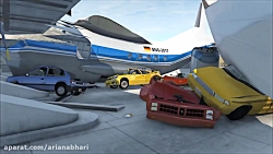 بازی - Beamng drive - تصادفات