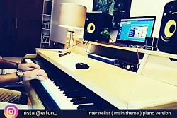 interstellar main theme piano version erfa...
