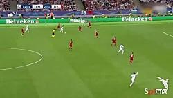 گل سوم رئال مادرید از ن...
