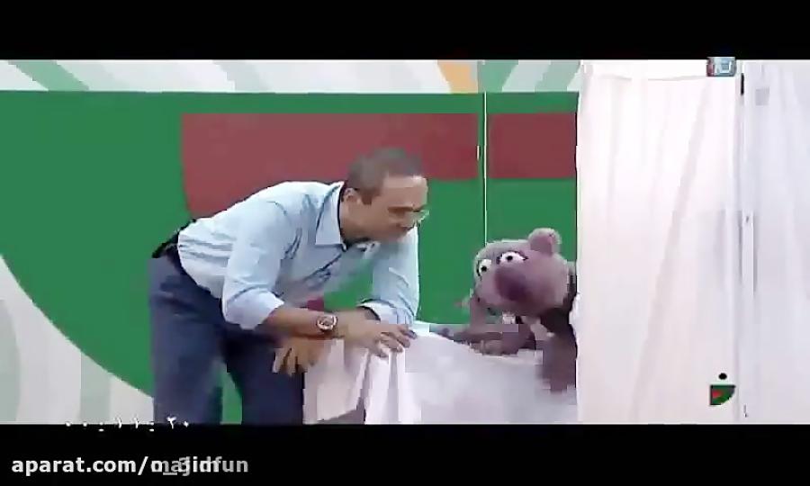 فیلم فوق العاده آمپول زدن جناب خان در برنامه خندوانه