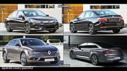 2016 Honda Accord vs 2016 Renault Talisman