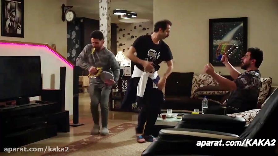 سکانس جالب رقص سیاه با نوازندگی امین حیایی ساخت ایران 2