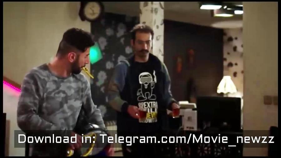 """رقص خنده دار امین حیایی و محسن کیایی در """"ساخت ایران 2 """""""