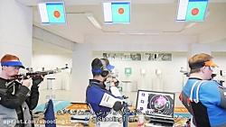 شبیه سازی و تمرین شرایط فینال تفنگ بادی ۱۰ متر