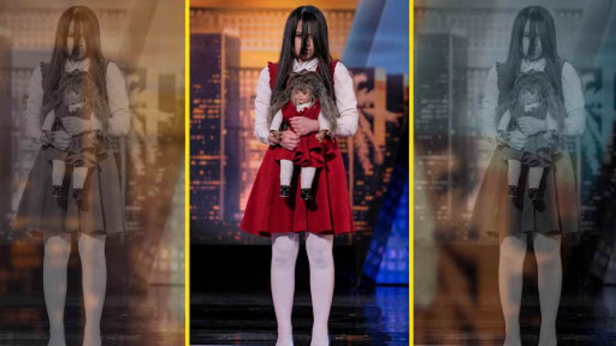 اجرای ترسناک دختر جادوگر - Americas Got Talent 2018